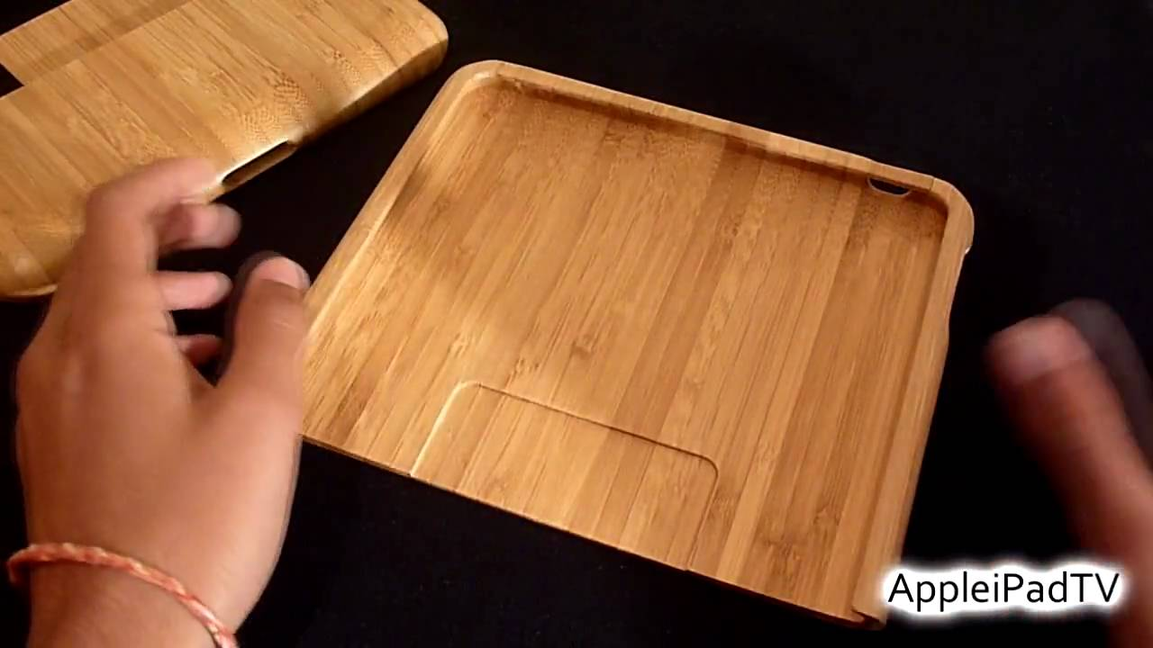 Wood Ipad Case Stand Review By Feltu Youtube