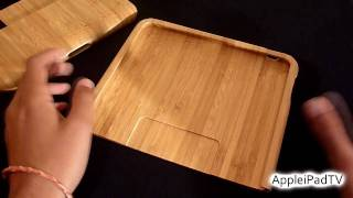 Wood Ipad Case & Stand Review (by Feltu)