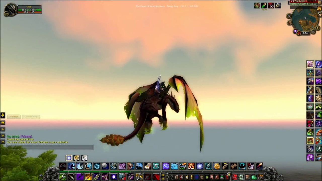 feldrake rare epic world
