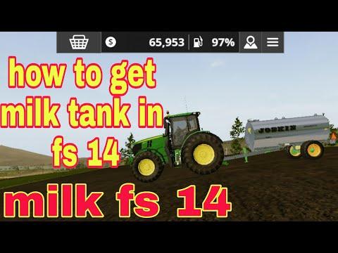 How to get milk in farming simulator 2014