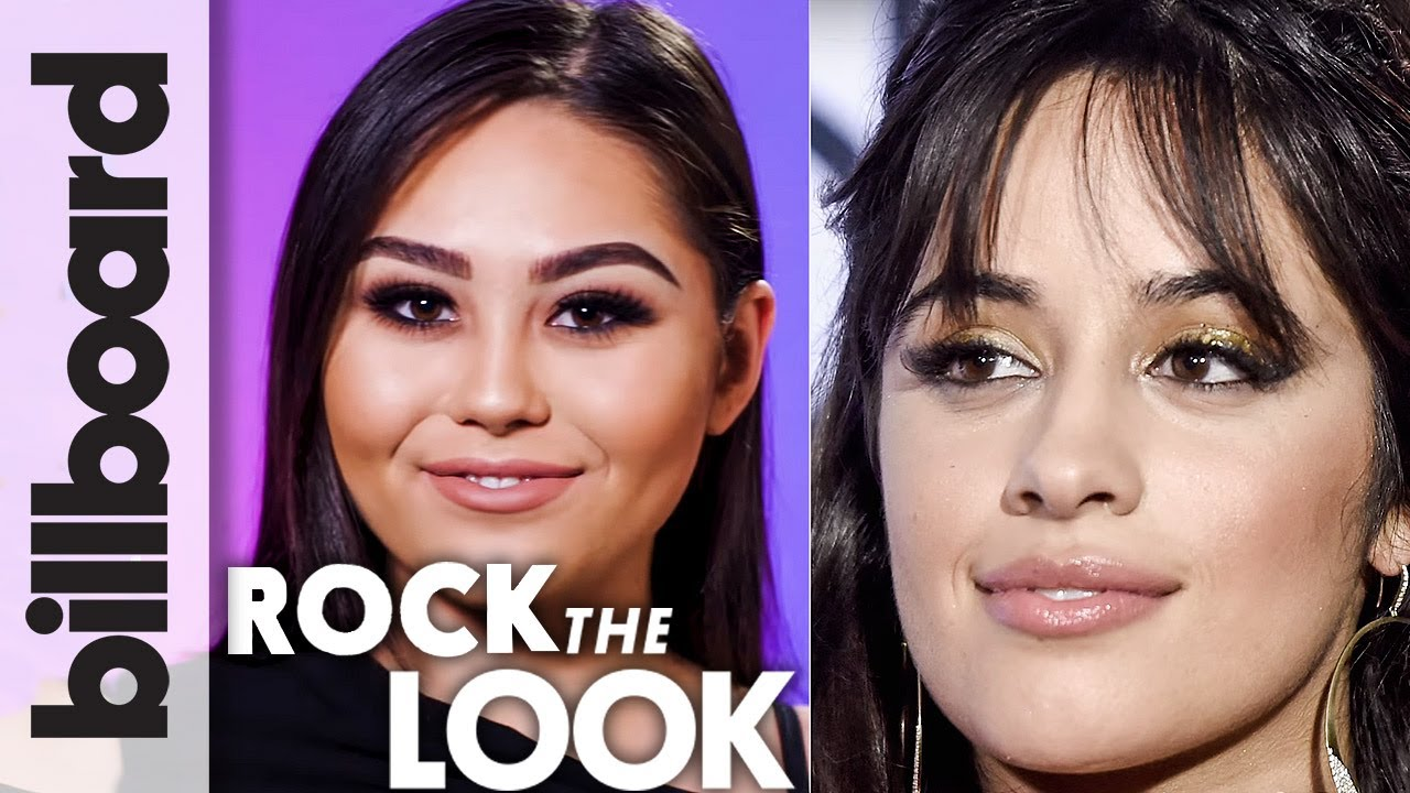Camila Cabello's 'Crying in The Club' Smokey Eye Makeup Tutorial   Billboard Rock The Look