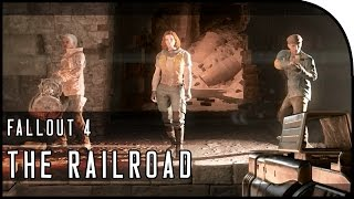 "Fallout 4 Gameplay Walkthrough Part 29 – ""THE RAILROAD, DEATHCLAW!!!"""