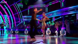 James and Ola Jordan dance to Earth Wind and Fire