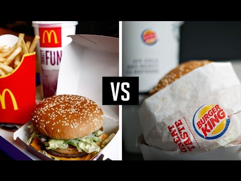 mcdonalds vs burger king Comparison between mcdonald's and burger king menu prices and how the two restaurant chains compare with their prices.