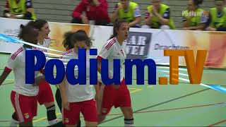 Futsal Feminino: ASD Olimpus Roma 3-7 SL Benfica