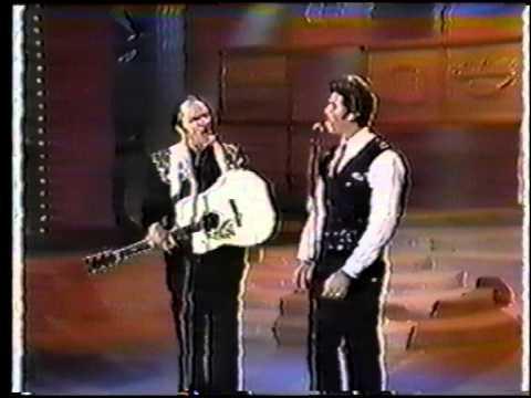 Slim And Byron Whitman Singing Back Home Again Live