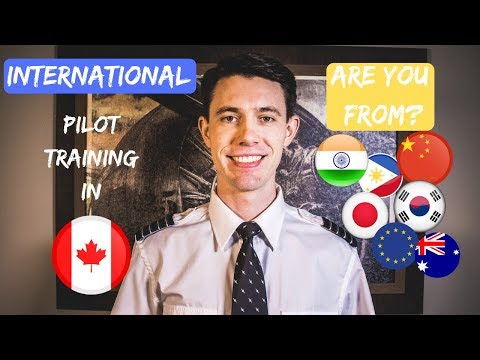 International Pilot Training In Canada