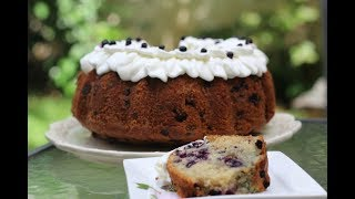 Blueberry Cinnamon Bundt Cake - Magda