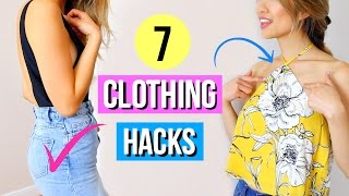 7 Simple Clothing Hacks Every Girl Must Know!