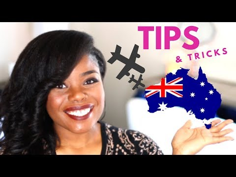 TRAVEL TIPS | TRAVELING TO AUSTRALIA
