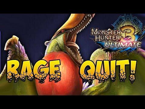 IT WON'T DIE!!! QURUPECO RAGE! Monster Hunter 3 Ultimate!