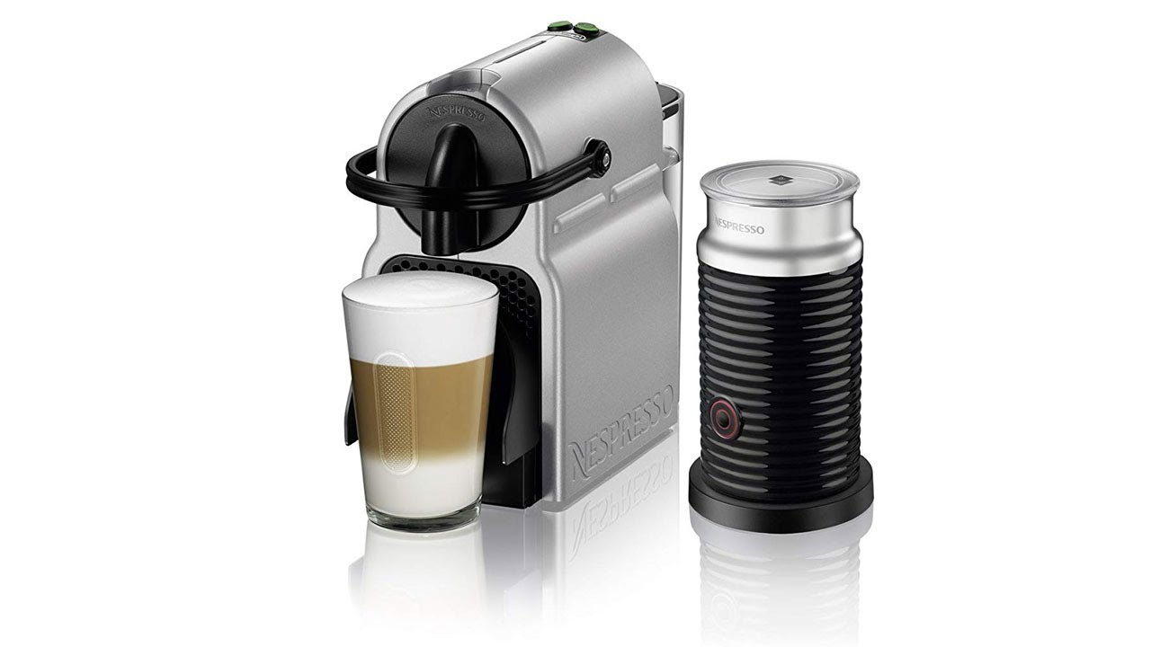 Nespresso Inissia Espresso Machine - review 2018 - YouTube