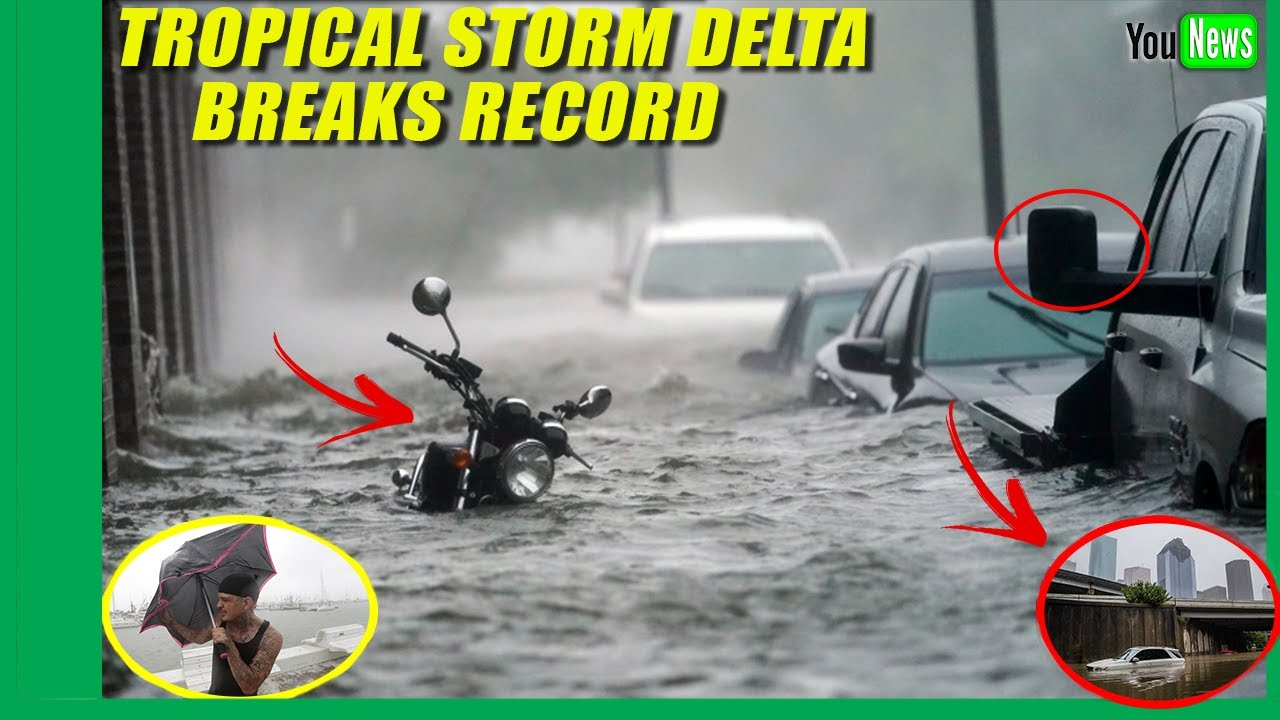 Hurricane Delta breaks record for earliest 25th named storm ...