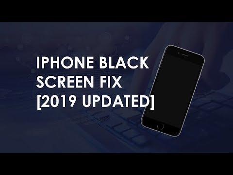 iPhone Black Screen Fix 2019 Updated