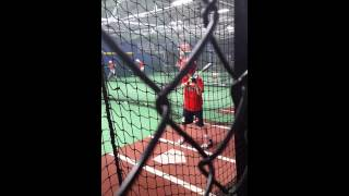 Hitting drills, Kevin Long clinic 9/17/15