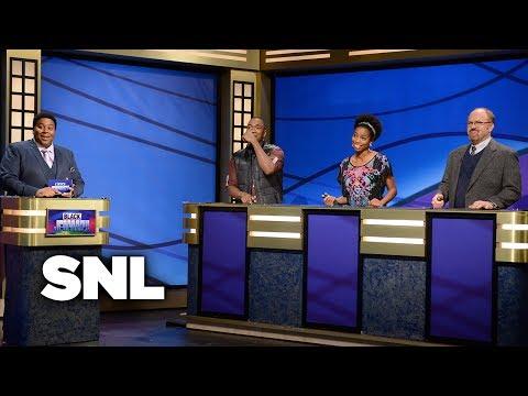 Black Jeopardy - Saturday Night Live