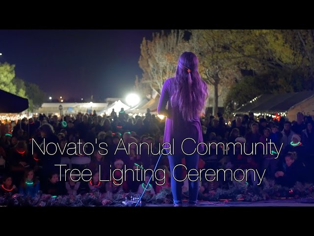 Novato Tree Lighting Ceremony