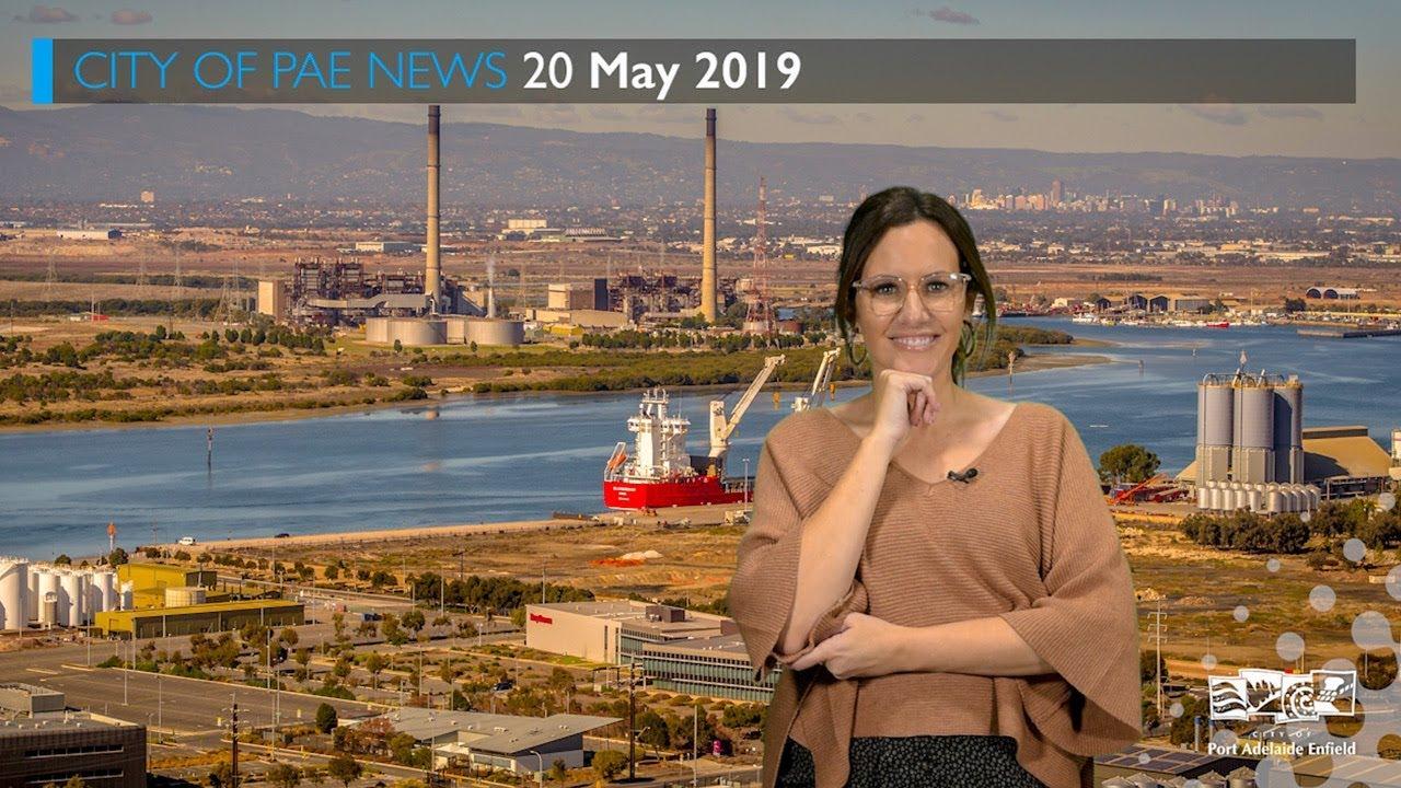 City of PAE News 20 May 2019 - Shipyard construction, volunteer week,  footpath grinding