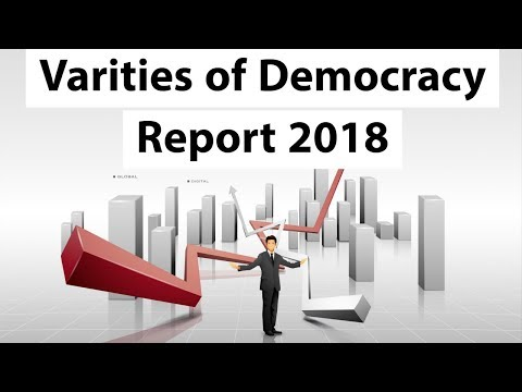 Varieties of Democracy Report 2018 -  Democracy for All? - Current Affairs 2018