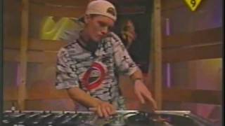 dj chosen few at the TMF Studio 19-9-1996