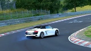 Repeat youtube video Best of Drifts & Fails | Touristenfahrten Nürburgring Nordschleife | Almost Crashes, Spins, Dreher
