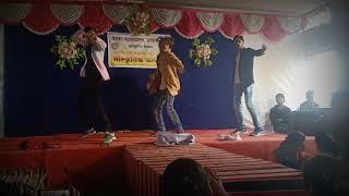 Collage performance dance / khalibali /malhari and funny Bollywood song