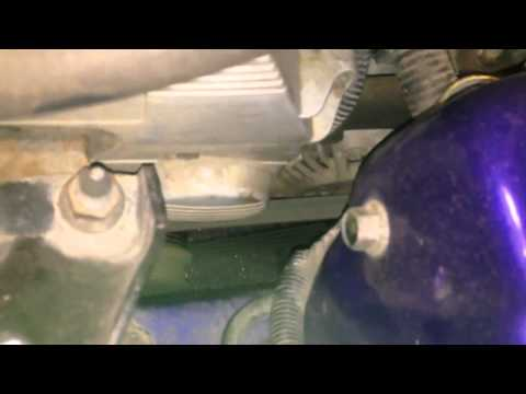 Alternator or pulley noise, 2001 Honda Civic EJ9 (D14 engin