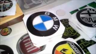 3d auto stikeri