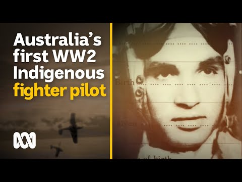 Australia's only indigenous WWII fighter pilot