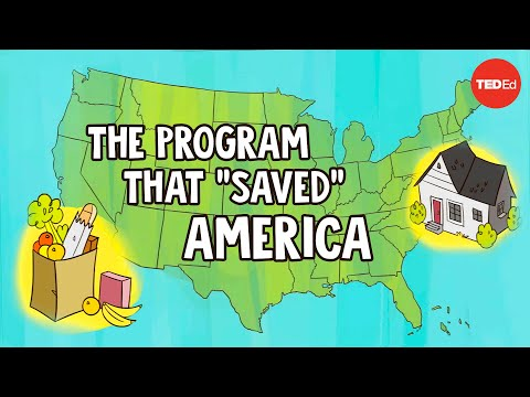 """Video image: What few people know about the program that """"saved"""" America - Meg Jacobs"""