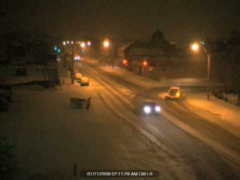 Time Lapse Snow Storm in Somerville/Cambridge MA