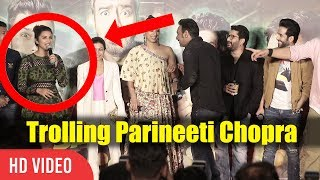 Ajay Devgn Trolling Parineeti Chopra | Golmaal Again Official Trailer Launch