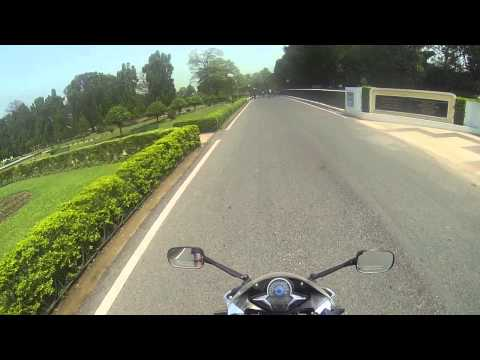 Sakchi Jubliee Park Marine Drive shot by GoPro on CBR 250R