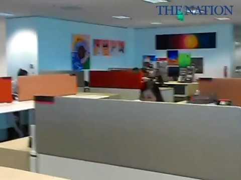 DBS Bank's new headquarter.