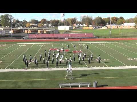 2015 Hackett Catholic Prep Marching Band MSBOA performance