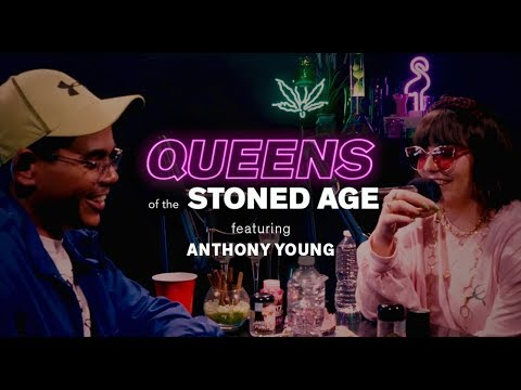 Mira Gonzalez & Anthony Young Break Down the Dankest Moments of Season 2 | QUEENS OF THE STONED AGE