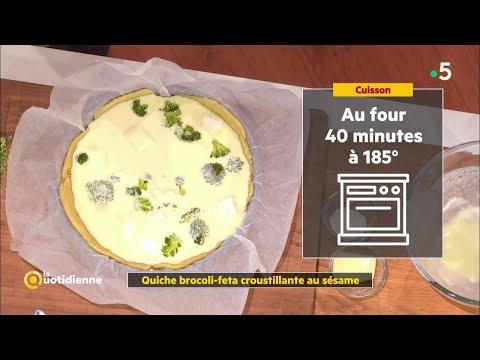 coup-d'food-:-quiche-brocoli-feta-croustillante-au-sésame---la-quotidienne