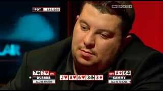 Poker Bluff - The Most RIDICULOUS Poker Bluff Ever with 7-2 off