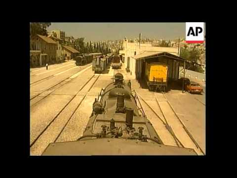 JORDAN: NEW AMMAN TO DAMASCUS EXPRESS TRAIN