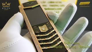 Vertu Signature S Gold Full Diamond | Đắm Chìm Trước Vẻ Đẹp Rạng Ngời Của Chiếc Điện Thoại Đẳng Cấp.