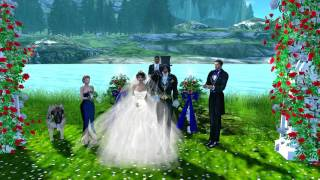 The Wedding of Milan Zepp and Minuet Dreamscape Second Life