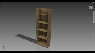Autodesk Inventor: Basic Shelf Unit Build