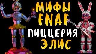 МИФЫ FNAF - ПИЦЦЕРИЯ ЭЛИС - ПИЦЦЕРИЯ ПОСЛЕ FNAF SISTER LOCATION