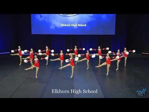 Elkhorn High School Small Varsity Pom 2019