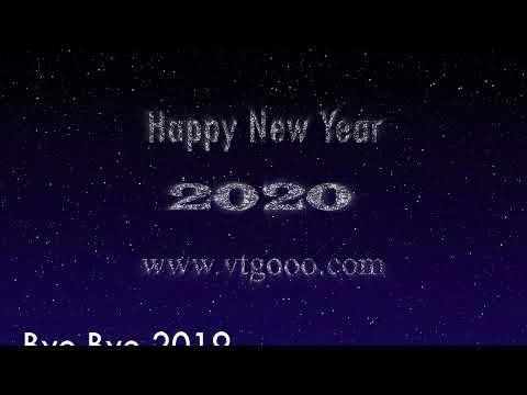 Happy New Year 2020 Best Greeting From VTGooo Group Hurghada