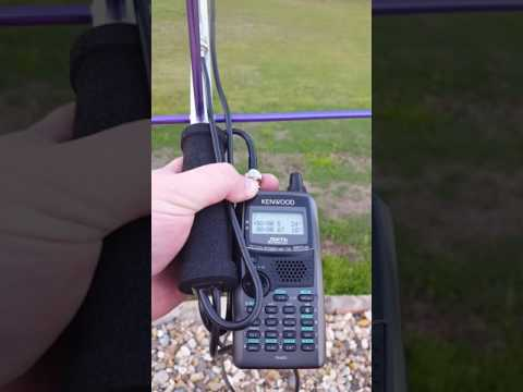 Listening to satellite SO-50 with Kenwood TH-D72 & Short Arrow