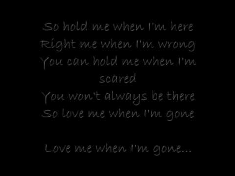 When Im ge3 doors down  With lyrics