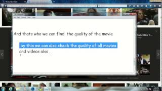 Torrentz 2 :- HOW TO FIND the quality of a Movie in Torrentz 2