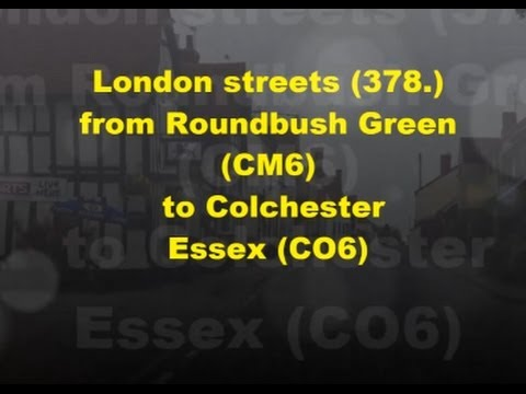 London streets (378.) - Roundbush Green (CM6) - Coggeshall, Essex (CO6)
