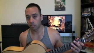 Tupac 2pac - Me and My Girlfriend (Bonnie and Clyde) Jay Z Beyonce - Guitar Lesson (Esteban Dias)